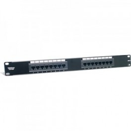Patch Panel Ptos 16 hembras RJ45 Cat 6